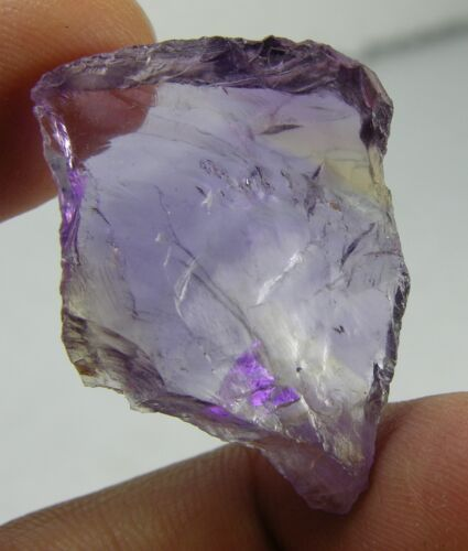 39.75ct Brazil 100% Natural Raw Rough Ametrine Crystal Specimen 7.95g 33.00mm