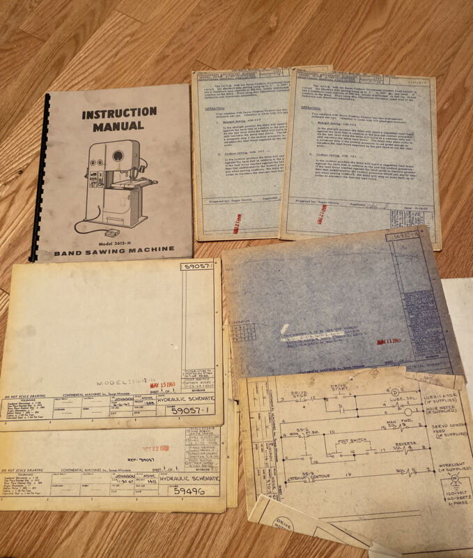 DoAll 2613-H manual and schematics