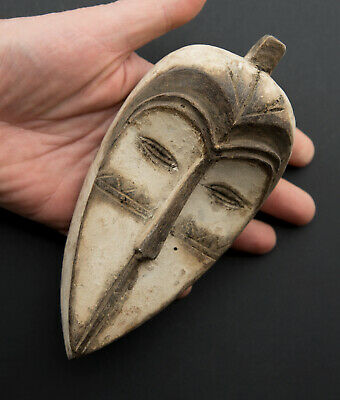 Mask Diminutive Pasport African Fang Ngil Gabon Wood 18cm Art First 16693