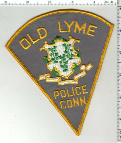 Old Lyme Police (Connecticut) 1st Issue Shoulder Patch