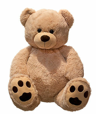 Riesen Teddybär Kuschelbär XXL 100 cm groß Plüschbär Kuscheltier samtig weich