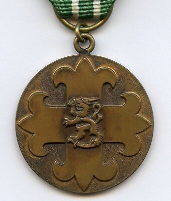 Finland Scout Union Bronze Medal Numbered 409 Nice Grade !!!