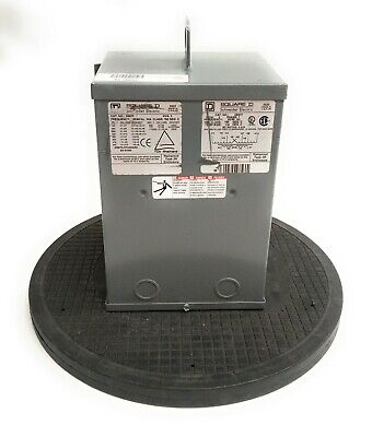 Square D 3s67f Transformer Dry 3kva Multiple Voltages 1 Phase 10a 5060 Hz