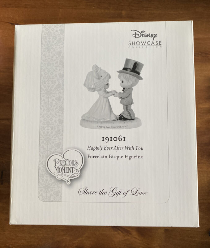 """Precious Moments ~ """"Happily Ever After With You"""" ~ #191061 ~ Figurine"""