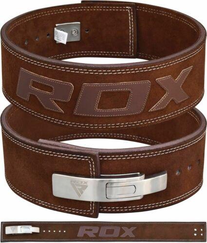RDX Weight Power Lifting Belt Lever Pro Gym Training Powerlifting Strength Belts
