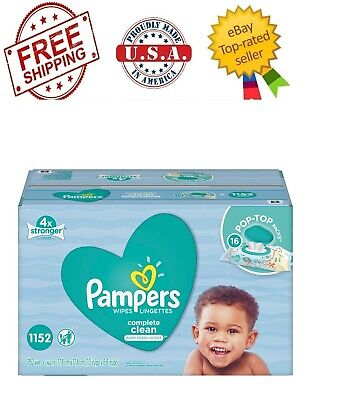 Pampers Baby Wipes, Complete Clean 1152 ct.