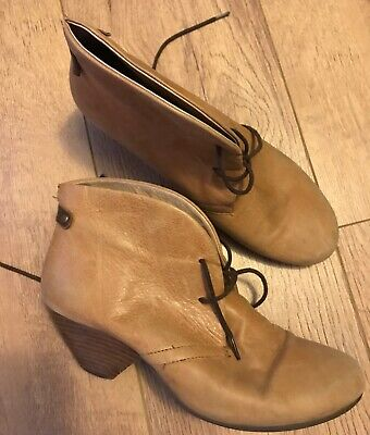 A pair of Django & Juliette, Ladies Sand Coloured Ankle Boots size 39 for sale  Shipping to South Africa