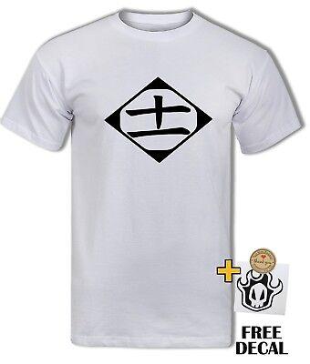 Bleach 11th Devision Logo T shirt Captain Kenpachi Ichigo Anime Adult Kids Tee