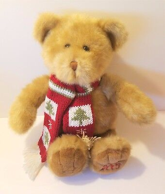 Dillards 16  2003 Winter Teddy Bear Stuffed Plush Animal Christmas Childs Toy