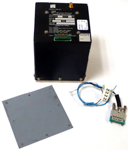 BALL EFRATOM M-100 102 RUBIDIUM OSCILLATOR 70502-102 10MHz w/ CABLE & PAD TESTED