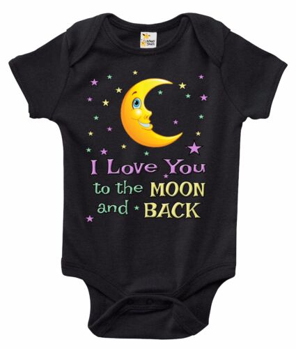 I Love You to the Moon and Back Baby Bodysuit Cute Baby Clot