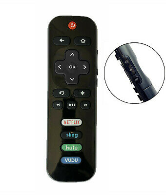 New Replacement Remote for Roku TV TCL Sanyo Element Haier RCA LG Onn Hisense JV