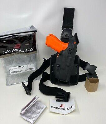 Safariland 6305 Alssls Tactical Qd Stx Black Leg Holster Rh For Glock 17 22