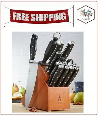 JA Henckels Ecumenical 15-Piece Forged Accent Knife Block Set