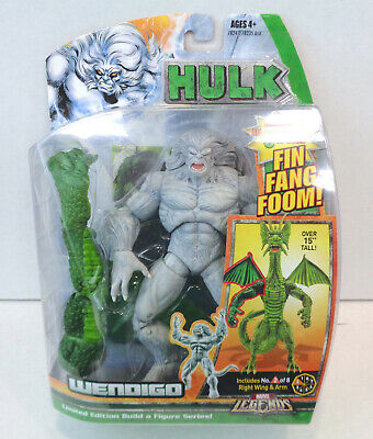 Marvel Legends: Wendigo Action Figure (2007) Hasbro New Fin Fang Foom BAF