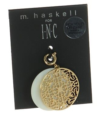 M. Haskell for INC International Concepts Gold-tone Filigree and Shell -