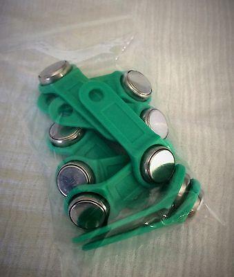 Exaktime Jobclock Keytab 20 green keytabs work time guaranteed lot best price !!