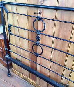 Antique Cast Iron Single Bed Armidale Armidale City Preview