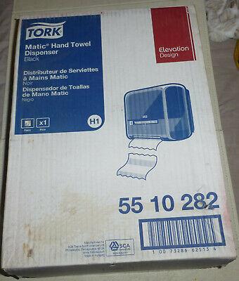 New Tork Elevation Design Matic Hand Towel Roll Dispenser H1 5510282 Black