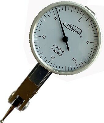 Dial Test Indicator 0.030 Range 0.0005 Reading 7 Jewels Movement Igaging
