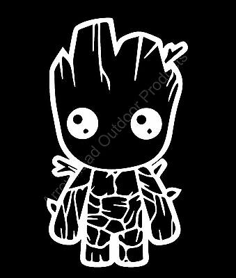 Little Groot Guardians of the Galaxy Funny Vinyl Decal Sticker Car Truck Window