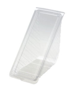 100 x Deep Fill Sandwich Wedge CATERING CAFE FOOD PACKAGING DELI BAKERY (1002/5)
