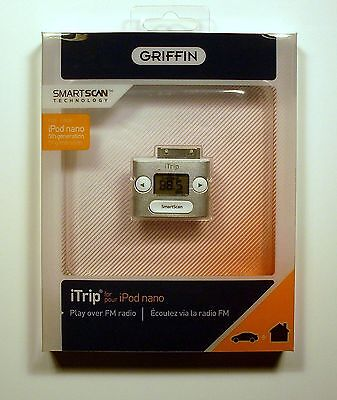 Griffin Itrip Wireless Fm Transmitter For Ipod, Ipod Nano And Iphone