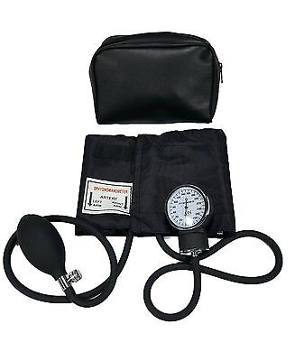 Line2design Manual Blood Pressure Cuff - Aneroid Child Arm Bp Monitor With Case