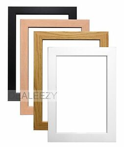 Wooden-Effect-Poster-Picture-Frames-Stand-or-Hang-Large-Various-Sizes-and-Colour