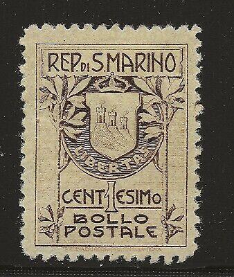 San Marino Scott #78, Single 1907-10 FVF MH