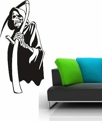 WANDTATTOO ++ SKULL 0069 ++ Halloween++ Aufkleber ++ - Halloween Wandtattoos