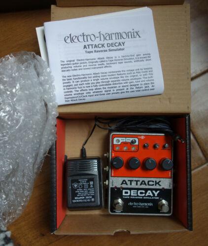 Electro-Harmonix - Attack Decay Tape Reverse Simulator & Fuzz Pedal Robert Fripp