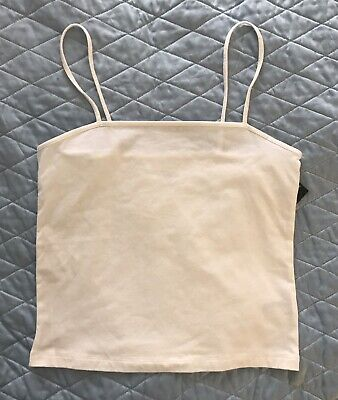 NWT WILD FABLE Cami square neck tank Top Women's Casual Comfort White Size - Comfort Cami