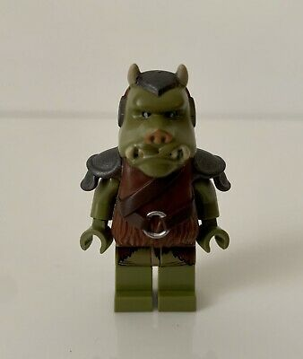 Lego Gamorrean Guard Minifigure from sets 9516 75005 Star Wars sw405 Detailed