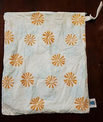 Planet Wise Wet Dry Bag Zippered Cloth Diaper Baby 21x17 Large