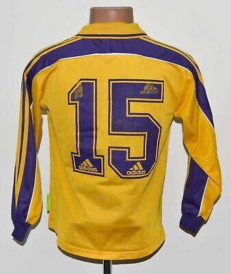 ANDERLECHT 2000/2001 PLAYER ISSUE EQUIPMENT FOOTBALL SHIRT ADIDAS #15 L KIDS image