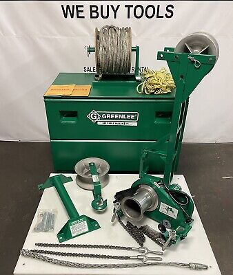 Greenlee 642 Cable Puller 4000 Lbs 640 Wire Tugger Pulling System Sheave