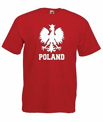 POLAND polska polish football xmas birthday gift ideas boys girls top T SHIRT