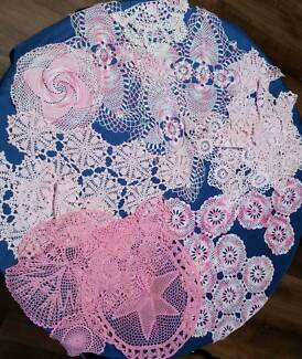 doilies hand crocheted