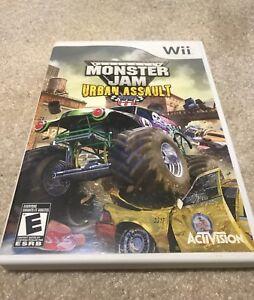 Monster Jam Urban Assault Wii