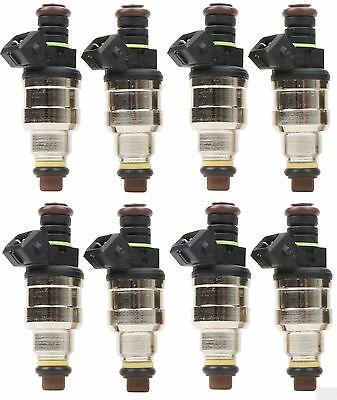 Set(8) 42lb Fuel Injectors fits GM LT1 LS1 LS6 Mustang SOHC DOHC V8 440cc EV1