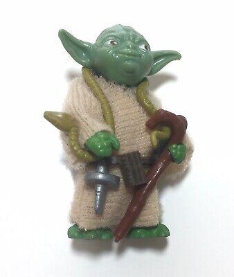 vintage Star Wars Yoda True Green Snake minty Looks Card Fresh Complete
