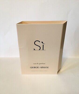 Armani Sì Pour Femme Eau de Parfum Sample Travel Spray .04oz/1.2mL NEW