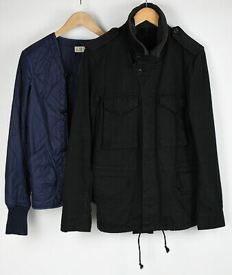 MAURO GRIFONI DENIM THERMOLITE Men's (EU) 48 or ~MEDIUM Lined Jacket 27580-JS