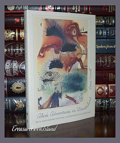 New Alice in Wonderland Illustrated Salvador Dali 150th Anniversary Hardcover