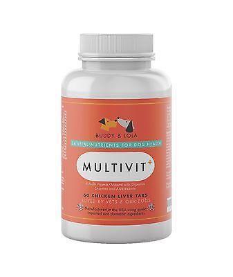 Best Senior Dog Vitamins Supplement  #1 Multivitamin for Nutrie... Free Shipping