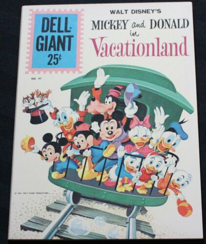 Mickey and Donald in Vacationland #1 (1961) NM... I Combine Shipping!