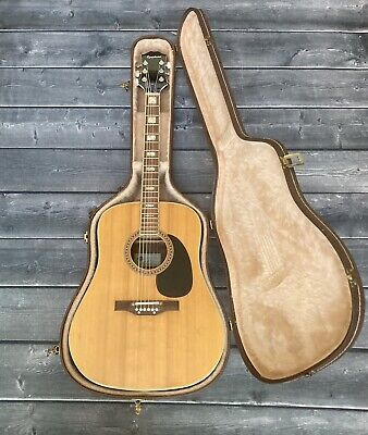 1970-1975 Epiphone 6830 Natural w/ Rosewood Back and Sides