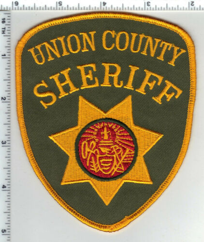 Union County Sheriff (Arkansas) Shoulder Patch from the 1980