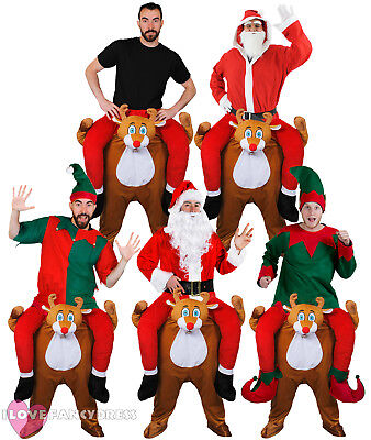 PICK ME UP REINDEER FANCY DRESS FUNNY NOVELTY CHRISTMAS COSTUMES CHOOSE STYLE (Fancy Me Costumes)
